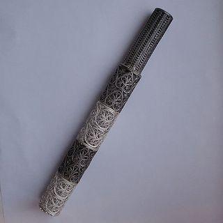 "Souvenir ""Rod"" silvering, Kazakovo Filigree"