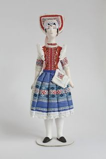 Doll gift. Slovak women's costume