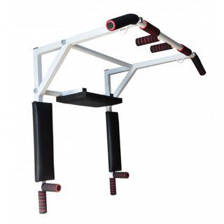 Horizontal bar Bars Press 3 in 1 narrow grip white