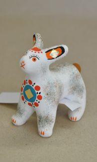 Dymkovo clay toy Bunny