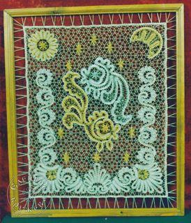 Lace panels decorative
