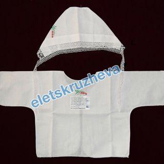Set of linen for a newborn - loincloth and bonnet