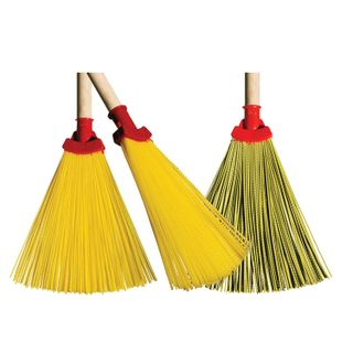 LIMA / Synthetic fan broom EXPERT No. 2 29x26 cm, without handle, euro-thread fastening