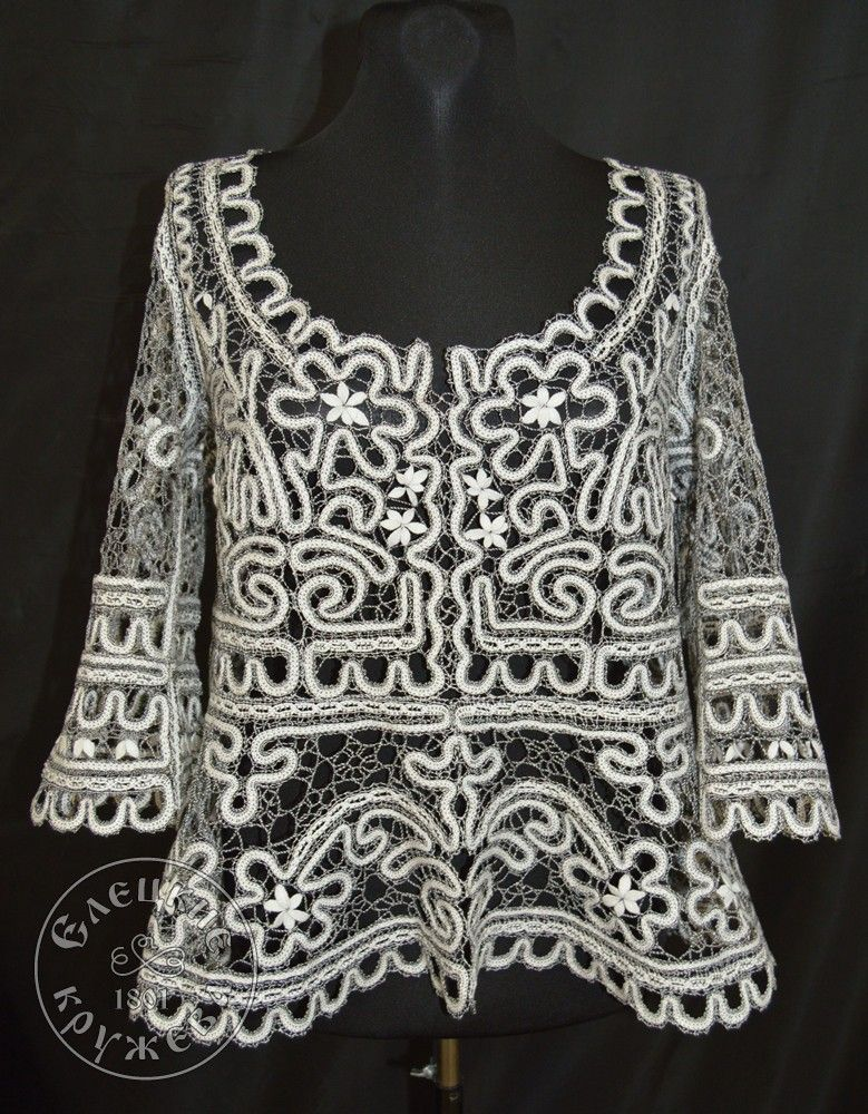 Yelets lace / Women's lace blouse С1824