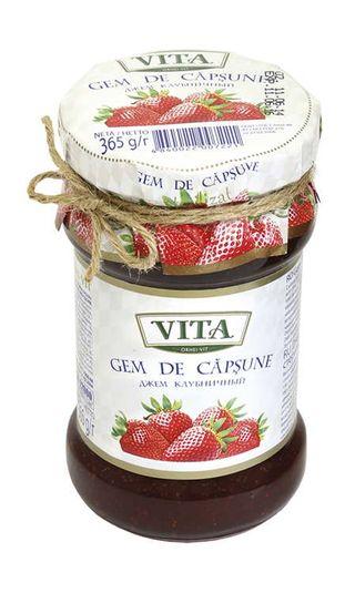 Vita strawberry jam 365g
