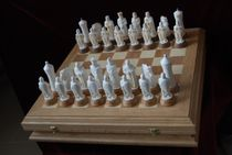 Chess the battle on the Ice