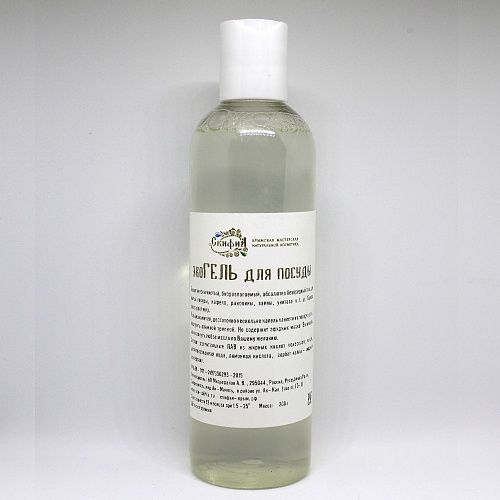 Scythia / Eco Dishwashing Gel, 200 g