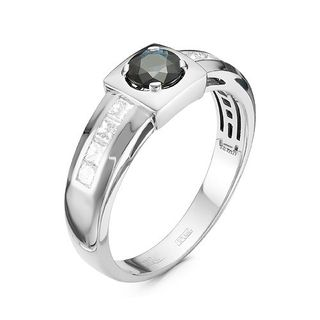 RING, WHITE GOLD, SAPPHIRE