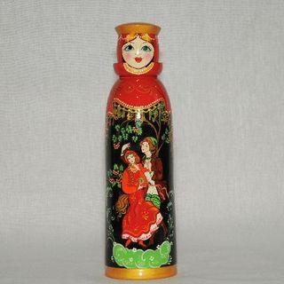"""Matryoshka-case """"Katyusha"""" painted author's"""