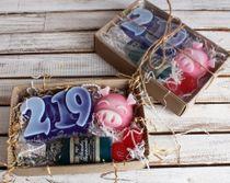 Handmade soap set 'Year 2019' medium
