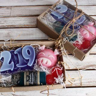 "Handmade soap set ""Year 2019"" medium"