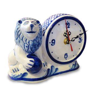 Watch porcelain zodiac signs, Gzhel Porcelain factory