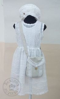 Dress baby lace white