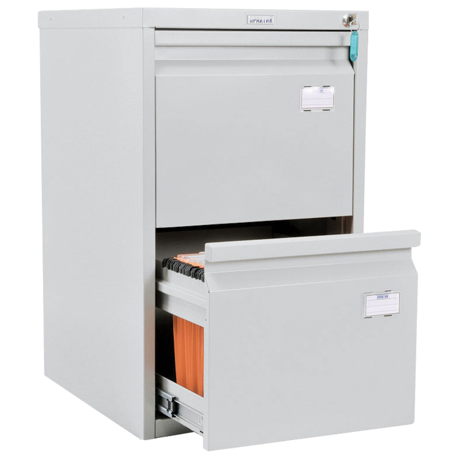 A-42 card cabinet, 685 x408 x485 mm, 2 boxes for 84 hanging folders, A4 folder format (FREE folders)