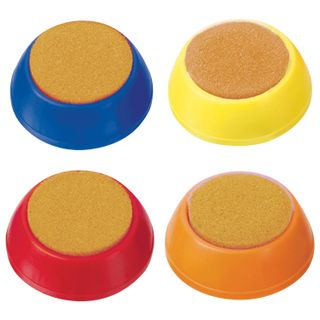 Round sponge for cashier STAMM, assorted