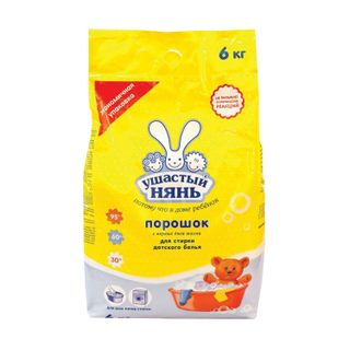 Detergent powder for all types of washing USHASTY NYAN 6 kg