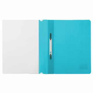 BRAUBERG plastic folder, A4, 130/180 µm, turquoise