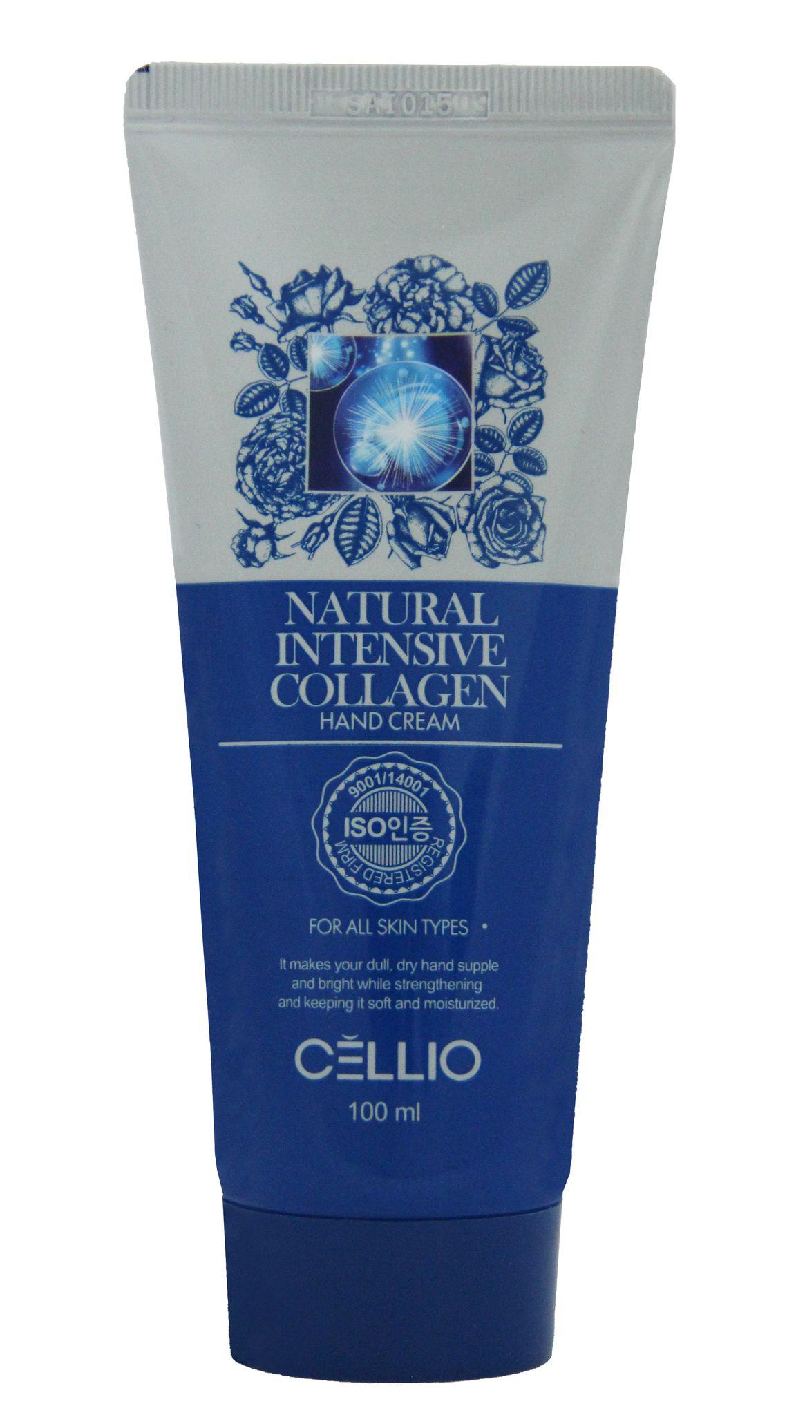 Hand cream with collagen INTENSIVE COLLAGEN , CELLIO , 100 ml
