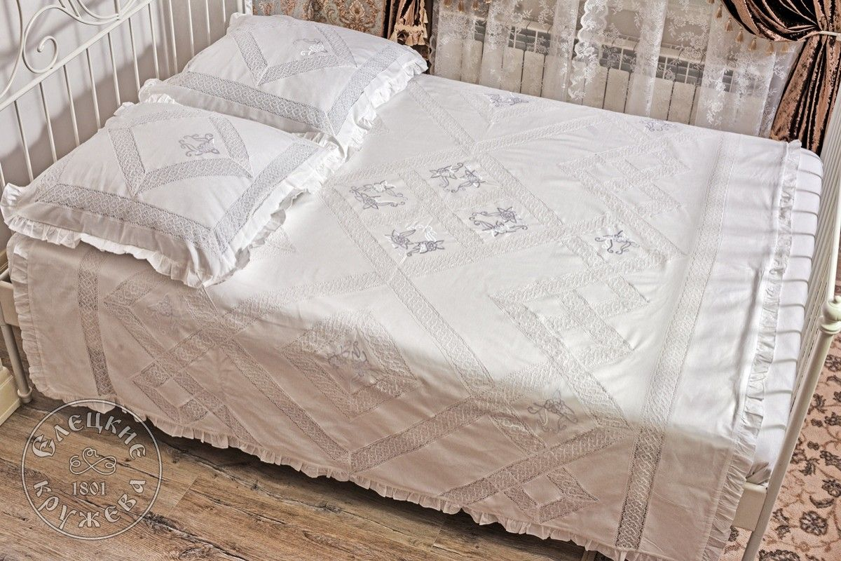 Yelets lace / Double bedding set С2186Е