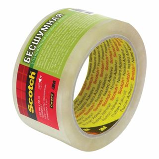 SCOTCH / Packaging adhesive tape SILENT 48 mm х 50 m, transparent, 47 microns, S5066F6T