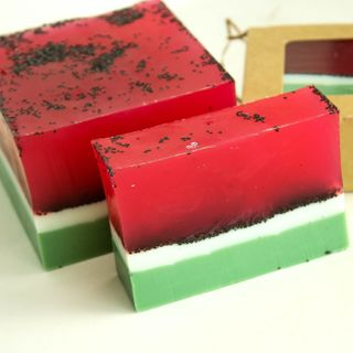 Watermelon - handmade soap with the scent of watermelon
