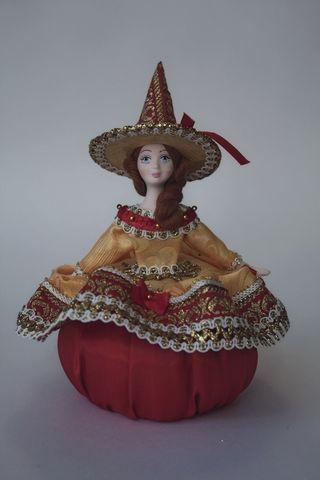 Doll gift porcelain. Solar fairy. Fairy tale character.