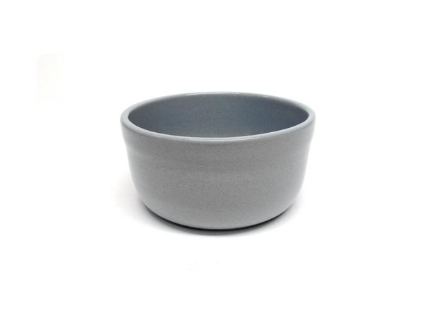 """Vyatka ceramics / Set of containers """"Julia"""" 0.2 l, 10 pcs. (grey )"""
