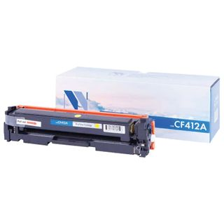 Toner cartridge, NV PRINT (NV-CF412A) for HP M377dw / M452nw / M477fdn / M477fdw, yellow, yield 2300 pages
