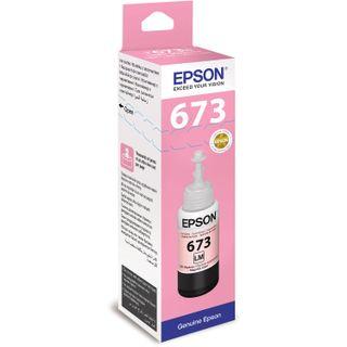 EPSON ink (C13T67364A) for Epson L800 / L805 / L810 / L850 / L1800 CISS, light magenta, original