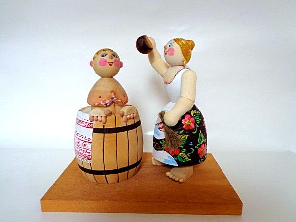 "Tver souvenirs / Composition ""Bath day"""