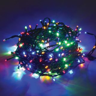 Golden fairy tale / LED electro-garland