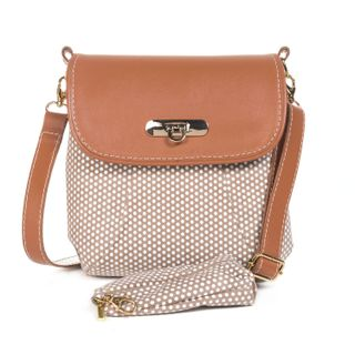 "Leather bag ""Paris"" brown"