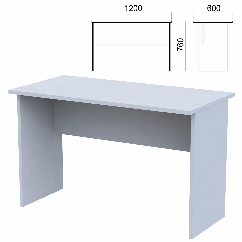 "Table written ""Argo,"" 1200 x600 x760 mm, grey"