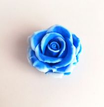 Handmade soap Blue rose
