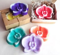 Handmade soap Orchid mix of colors