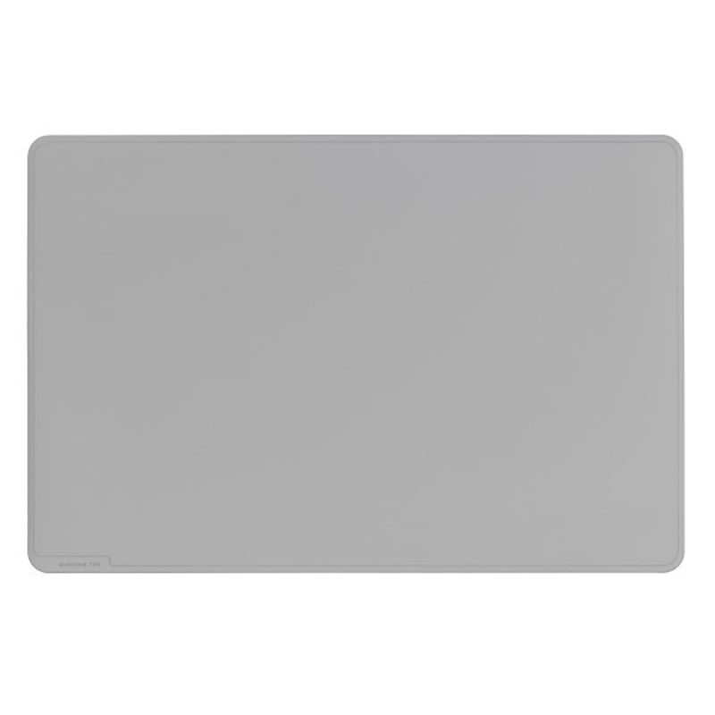 Durable / Tabletop, Rounded Rectangle, 400 x 530mm, Gray PVC