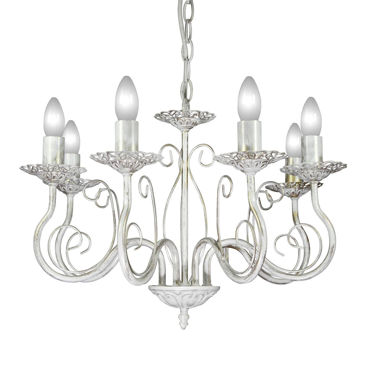 PETRASVET / Pendant chandelier S1161-6, 6xE14 max. 60W