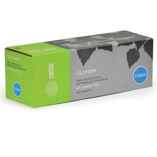 Toner cartridge CACTUS (CS-CF283X) for HP LaserJet Pro M201 / M225, yield 2200 pages.