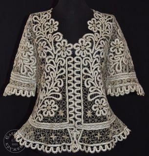 Women's chiffon blouse lace С1913
