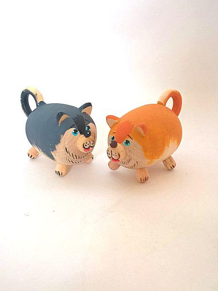 "Tver souvenirs / Fairy-tale characters ""Husky"", 2 pcs."