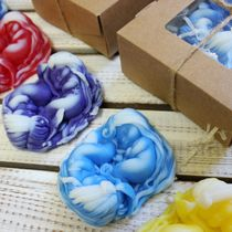 Handmade soap Little Mermaid - mix of colors