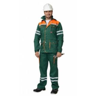 "Costume ""Leader"" green / orange, blue / orange"