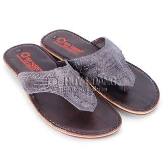 Sandálias masculinas - pele de jacaré HH7222