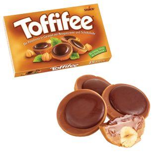 TOFFIFEE / Chocolate candies, cardboard box 125 g