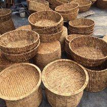 Water hyacinth baskets