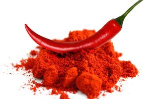 Powder of red pepper