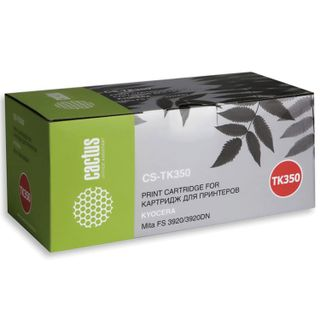 Toner cartridge CACTUS (CS-TK350) for KYOCERA FS-3920DN, 15000 pages.
