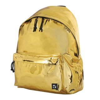 Backpack BRAUBERG youth, city size, Vintage, light gold, 41х32х14 cm