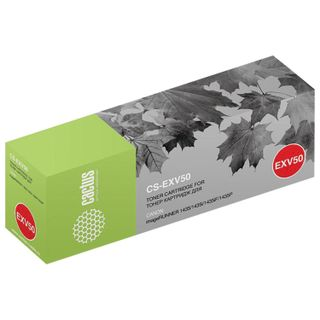 CACTUS Toner (CS-EXV50) for Canon IR 1435 / 1435i / 1435iF / 1435P, Black, 17,600 pages