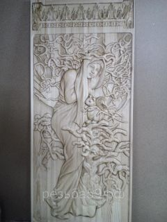Doors carved from the array of valuable species: oak, ash and beech